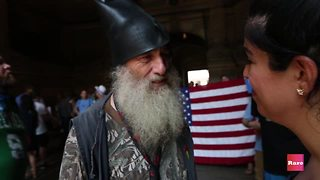 Yasmeen Talks to Vermin Supreme - Video