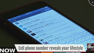 Cell phone number reveals your lifestyle