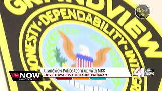 Recent MCC graduate becomes Grandview's newest police officer thanks to scholarship - Video
