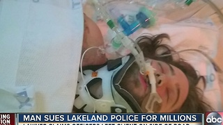 Man sues Lakeland police for millions - Video