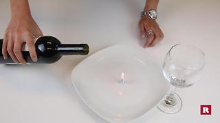Bar Tricks Transfer wine into glass without pouring | Rare Life - Video