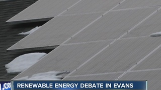 Solar tax opt-out in Evans causes stir - Video