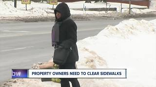 Sidewalk problems in Buffalo - Video