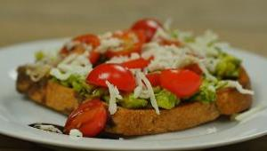 Italian Caprese Avocado Toast - Video