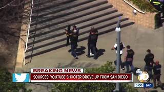 YouTube shooter drove up from San Diego, sources say - Video