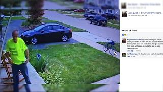 Taylor police warn of man going door-to-door posing as Wayne County employee - Video