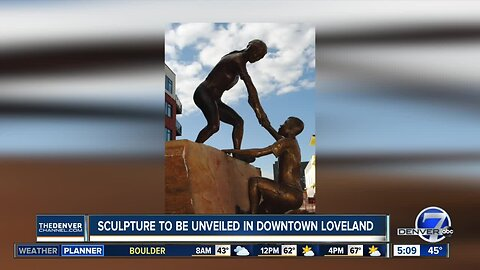 New sculpture to be unveiled in downtown Loveland