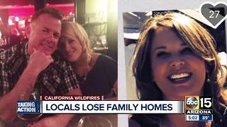 Valley man says both parents lost their homes in California fires - Video