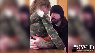 Dad's Life Lesson To Daughter Throwing A Tantrum Has Quickly Made Him Famous - Video