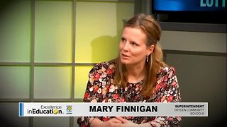 Excellence in Education - Mary Finnigan