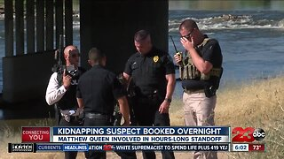 Bakersfield Kidnapping suspect booked overnight