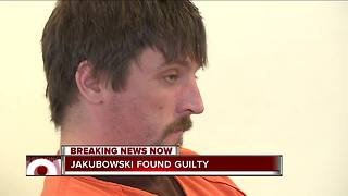 Federal Jury convicts Joseph Jakubowski on weapons charge - Video