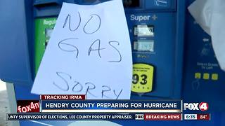 Hendry County prepares for Irma - Video