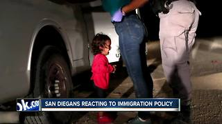 San Diegans react to immigration policy - Video