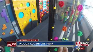 Indoor adventure park opens in Millard - Video