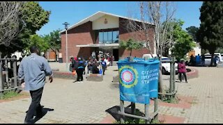 South Africa - Cape Town - World Homeless Day (Video) (F82)