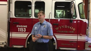 Inside the Windsor Charter Township Fire Department
