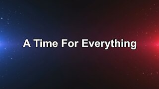 Andy White: A Time For Everything (video 1 minute 58 seconds)
