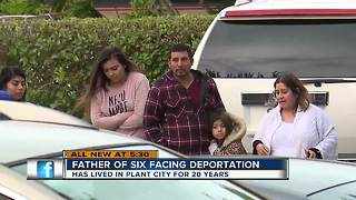 Florida father of six facing deportation - Video