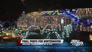 Final preparations for Winterhaven - Video