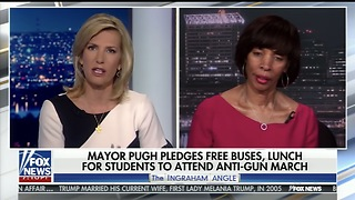 Baltimore Mayor Won't Heat Classrooms But Will Fund Buses TO DC Student Anti-Gun March - Video