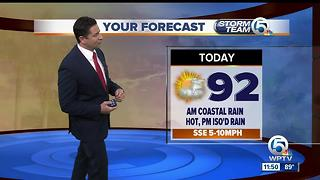South Florida Monday afternoon forecast (7/24/17) - Video