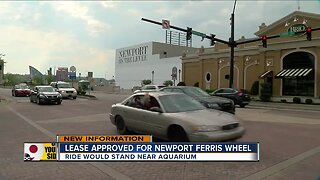 Lease approved for Newport ferris wheel
