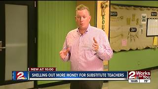 Shelling out more money for substitute teachers - Video