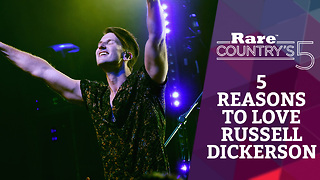Five Reasons to Love Russell Dickerson | Rare Country's 5 - Video