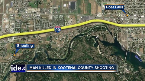 Law enforcement investigating fatal shooting near Post Falls