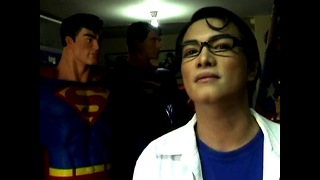 Man Has Plastic Surgery To Become Superman - Video