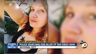 Police searching for killer of San Diego mom