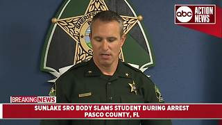 Pasco Sheriff's investigating after SRO slams student during arrest - Video