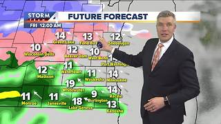 Cloudy, highs in the 30s Thursday - Video