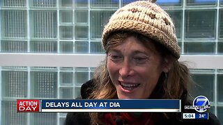 Delays all day at Denver International Airport