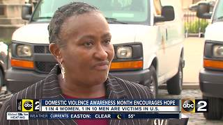 Domestic violence survivors spread message of hope - Video