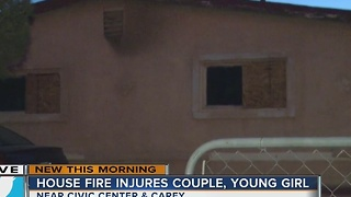 Neighbor talks about child injured in fire - Video