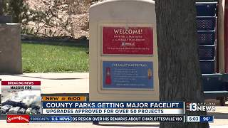 Clark County Commissioners approve $77 million in park renovations - Video