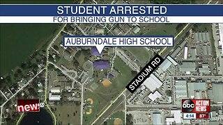 Polk student arrested after bringing loaded gun to school