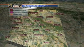 Excessive heat warning Sunday - Video