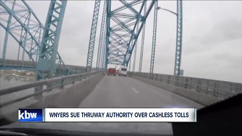 Western New Yorkers sue Thruway Authority over cashless tolls