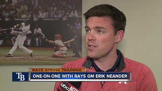 One-on-One with Rays GM Erik Neander