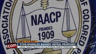 Florida NAACP leader reacts to push for anthem ban in California - Video