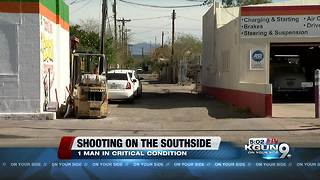 Man shot in head in South Tucson - Video