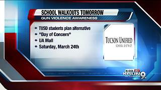 TUSD Superintendent Trujillo spoke out about tomorrow's walkout for school safety - Video