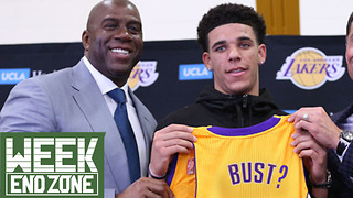 Is Lonzo Ball Becoming a BUST!?  WeekEnd Zone - Video