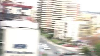 Man Films Moment Chile Earthquake Violently Shakes Apartment Building - Video