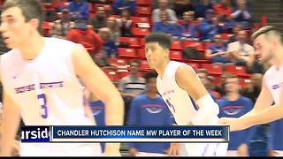 Hutchison was named the MW Player of the Week - Video