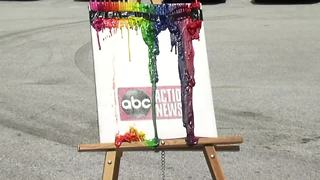 How to make your own melted crayon art in the Tampa Bay heat - Video