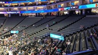 Sparse Crowd for Kings Game as Stephon Clark Protesters Gather at  Golden 1 Center - Video